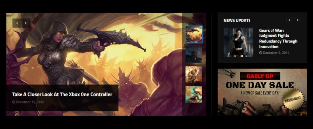 The WordPress Gaming Themes Collection