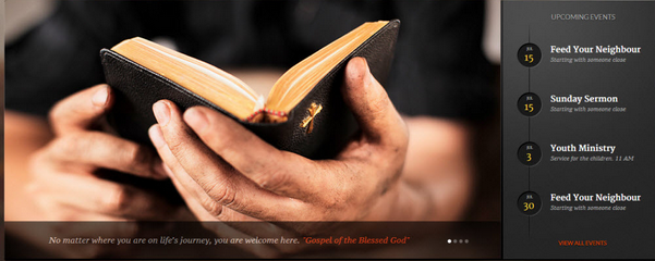 The 7 Best WordPress Themes for Churches 2014