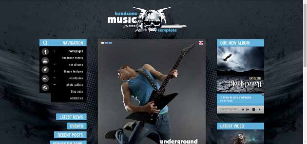Bandzone WordPress Theme   Just another WordPress site (630x297)