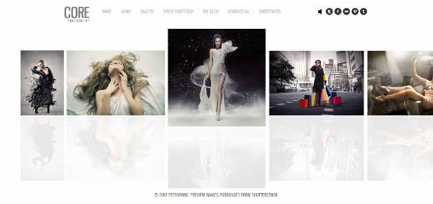 Core Minimalist Photography Portfolio (630x297)