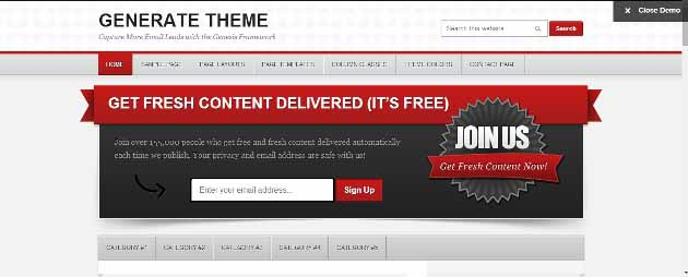 Generate Theme by StudioPress (630x254)
