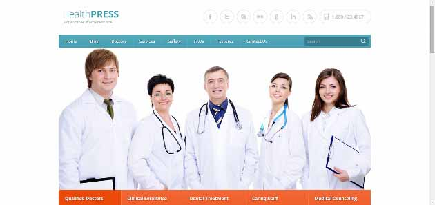 HealthPress WordPress Theme (630x297)