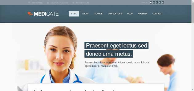 Medicate WordPress Theme Demo   Just another WordPress site (630x297)