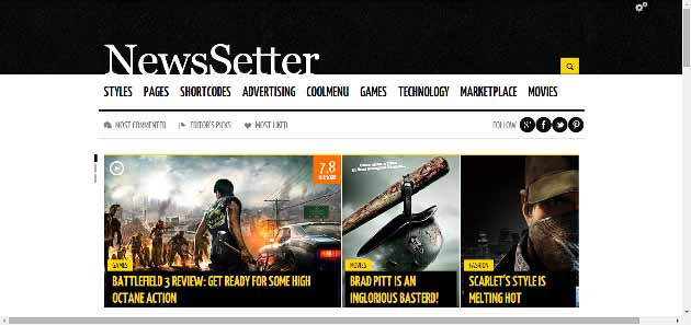NewsSetter   Technology and Entertainment WordPress magazine theme (630x297)