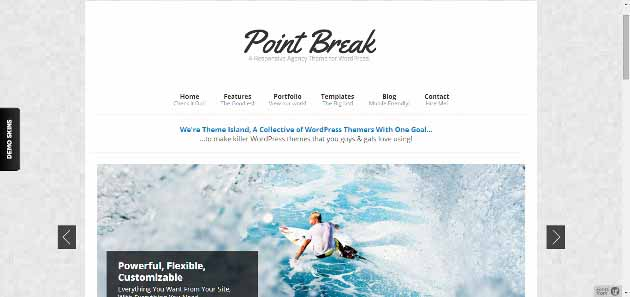 Point Break   A Responsive Agency Theme (630x297)