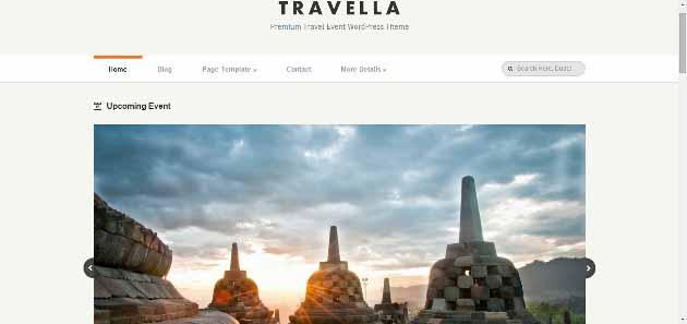 Travella   Premium Travel Event WordPress Theme (630x297)