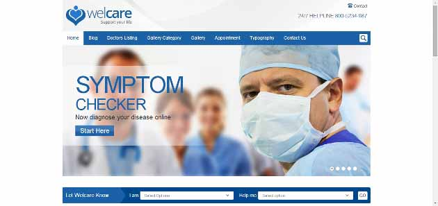 Welcare Medical Wordpress Theme (630x297)