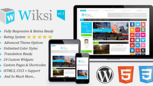 Wiksi Premium WordPress Theme