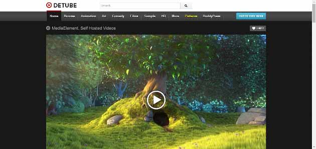 deTube   Professional Video WordPress Theme (630x297)