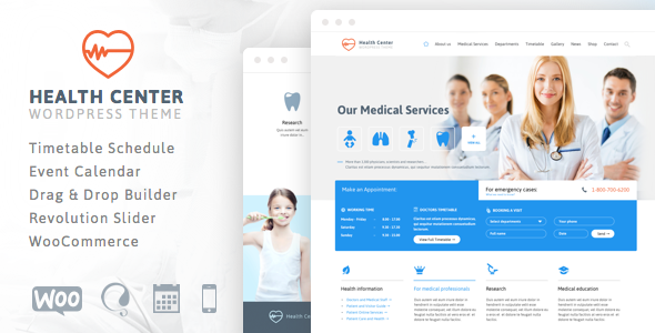 Health Center - Responsive Medical Theme