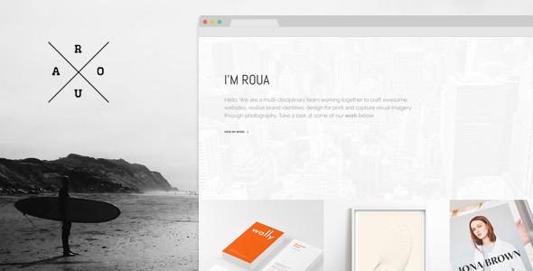 ROUA-Minimalistic-Portfolio-WordPress-Theme