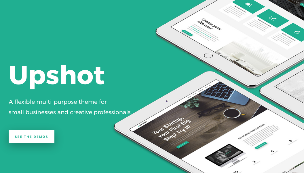 upshot wordpress theme