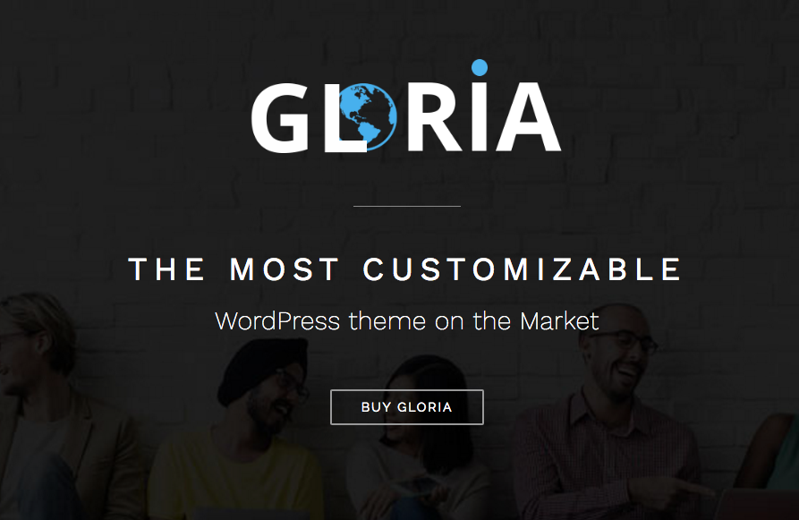 gloria wordpress theme