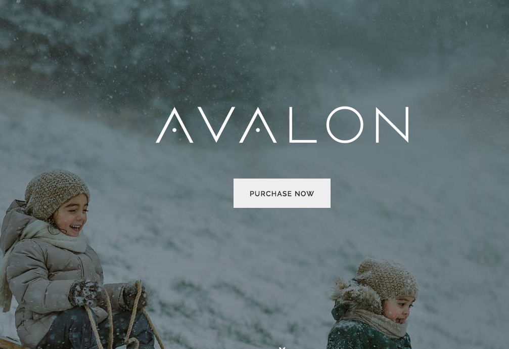 avalon wordpress theme