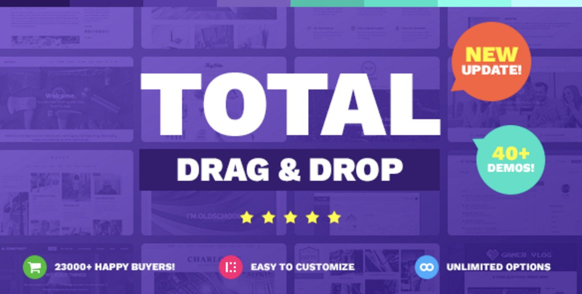 Total -  Drag & Drop